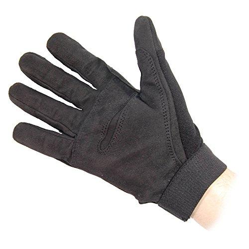 Mil-Tec Herren Handschuhe Schwarz Größe S