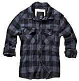 Brandit Check Shirt Black-Grey 3XL