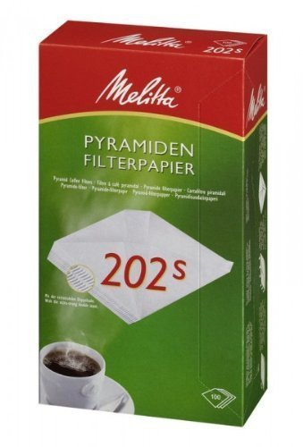 Melitta Filtertüten 202 S 5 x 100 Stk.