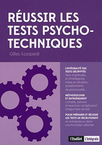 Réussir les tests psycho-techniques
