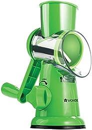 Wonderchef Plastic Grater, Green