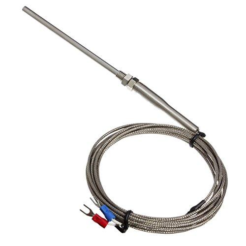 ExcLent 3m K Typ 0~600 Grad Thermoelement 100mm Sondensensoren
