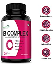 Simply Herbal Vitamin B Complex Vitamins B12 B1 B2 B3 B5 B6