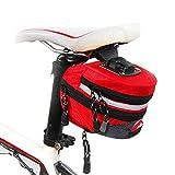 Goodtimes28 Ausverkauf Angebote Portable Outdoor Radfahren MTB Mountainbike Rücksitz Hinten Beutel Satteltasche Red