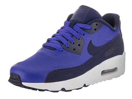 Nike Unisex-Kinder Air Max 90 Ultra Ess 2.0 Gs Sneakers Blau (Paramount Blue/binary Blue/white)