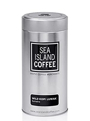 Wild Kopi Luwak, Northern Sumatra - Whole Bean Coffee from Sea Island Coffee