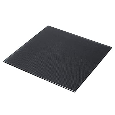Notail Ender 3 Heated Bed Tempered Glass Plate 3D-Drucker bauen Oberfläche für Creality Ender 3 glasplatte hotbed glas 235x235x4mm mit 4 Clip