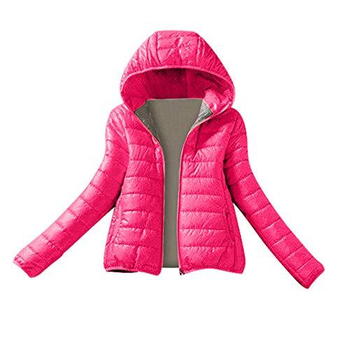 (Frauenmantel Schwarz Frauen-Winter-Warme Mantel-Dünne Mit Kapuze Reißverschluss-Jacken-Mantel-Bluse Damen Mantel Ausgestellt)