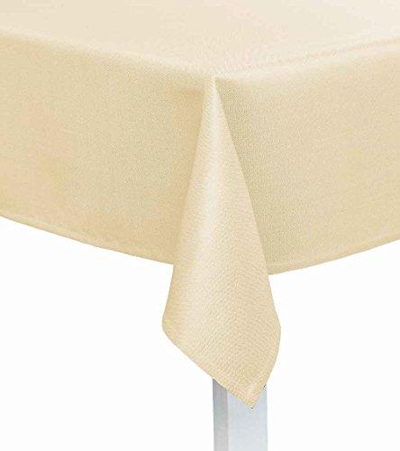 Tischdecke Viva Größe: 130 cm x 170 cm, Farbe: Perle