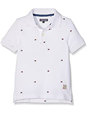 Tommy Hilfiger Jungen Poloshirt Mini All-Over Print Polo S/S