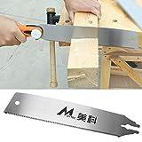 lailongp - Lama per sega a traino manuale con utensile flessibile a dentatura fine 265B per la lavorazione del legno, tubi ABS in PVC, attrezzi da giardinaggio