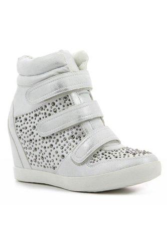 Go Tendance, Damen Sneaker Silber - Argent