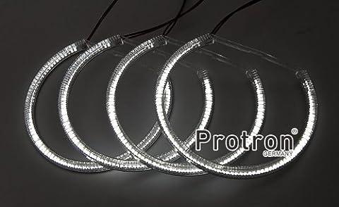 Protron X7 LED Angel Eyes Standlichtringe KIT für BMW E36 E38 E39 E46, Type:Nr.3 E46 Facelift (mit/ohne Xenon) / E46 Coupé VFL