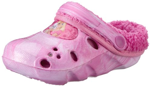 Barbie Girls' girls kids clog sandals & mules Clogs And Mules Multicolour Size: 10 UK Child