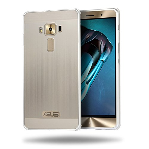 fitmore ASUS ZenFone 3 Deluxe ZS570KL 5.7 inch Cover TPU Skin Protector Protective Phone Hülle Cover Compatible with ASUS ZenFone 3 Deluxe ZS570KL 5.7 inch (Silver)