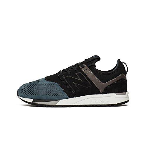 New Balance - 247 - MRL247N2 - El Color Negro-Azul - Talla: 44.0