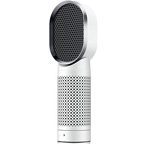 TJUAN Ultra Leise Luftreiniger - Negative Ionen Desktop Luftfilter mit HEPA Filter, Kompakter Geruch Allergen Eliminator Reiniger für Zuhause, Haustiere, Raucher, Kochen Luft-filter Allergen
