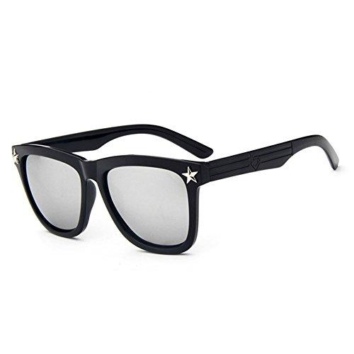 Z-P Unisex New Fashion Colorful Reflective UV400 Sunglasses 57MM