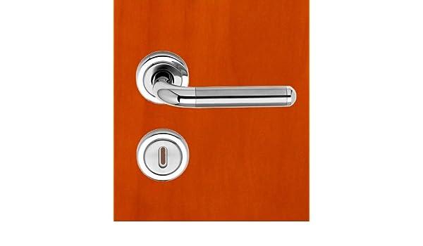T/ürdr/ücker Cecil Poign/ée de porte avec rosette pour salle de bains/// toilettes