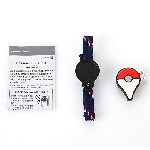 HermosaUKnight Professionelles Bluetooth-Armband für Pokemon GO Plus Armband-Armband-Gerät-Rot & Weiß