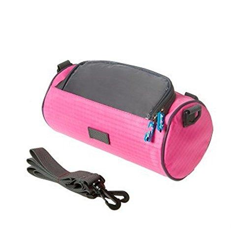 LWJgsa Multifunktionale Fahrrad Mit Tasche Cart Cover Mountain Bike Tasche Pink