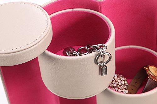 Vlando-Joyero-de-viaje-diseo-pequeo-con-compartimentos-para-collares-y-broches-regalo-perfecto