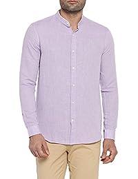 Richard Parker by Pantaloons Men's Cotton Linen Shirt