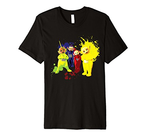 Teletubbies Paint Splatter T-shirt for Men or Women - S to 3XL