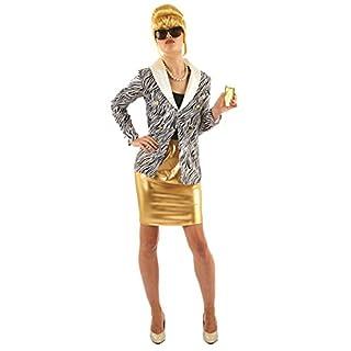1990s Lady Fabulous Womens Fancy Dress Costume M (UK: 12-14)