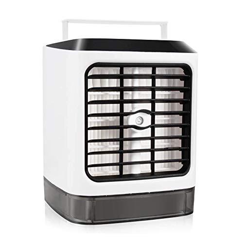 Mini Klimaanlage , Neu 2019 3 in 1 Air Cooler, Mini luftkühler, Luftbefeuchter und Luftreiniger, Super wind speed Tragbare Klimaanlage Luftkühler für Büro, Schlafzimmer, Küche -