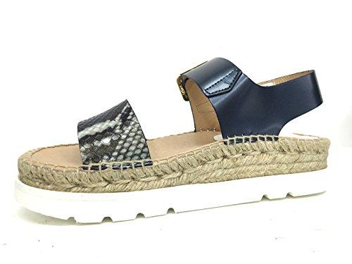KANNA femme KV5043 bleu sandales Bleu