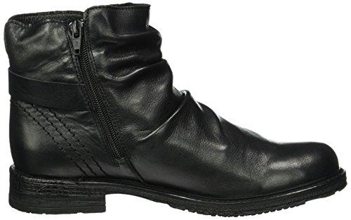 Buffalo Es 30870 Garda, Bottes Classiques femme Noir - Schwarz (PRETO 01)