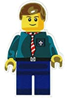 Scout Minifig Woven Fun Badge