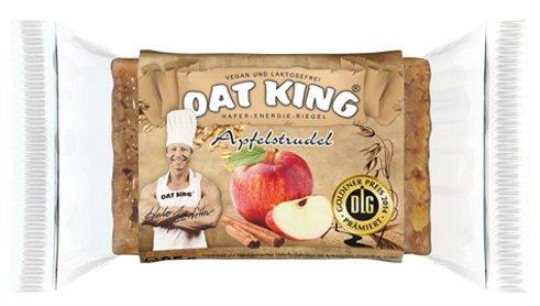 Oat King Energy Bar Haferriegel Langkettige Kohlenhydrate Vegetarisch Laktosefrei Vegan Protein 10x 95g (Milch & Honig - Milk & Honey) (Vegetarische Milch)