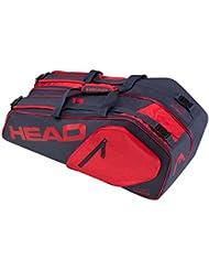 Head Core 6R Combo bolsa para raquetas de tenis, color azul oscuro y rojo, tamaño n/a