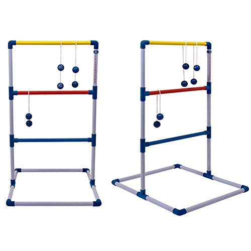 Fuitna Ladder Toss Game One Piece Ladder Ball Game Set Golf Toss Game Backyard Toys Games Party Throwing Toss- Indoor & Outdoor Games for Adults and Kids