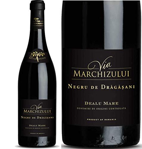 Geheimtipp Weinkenner – Weinrarität Via Marchizului Negru de Dragasani 2016 | Trockener Rotwein aus Rumänien | Seltene Rebsorte Negru de Dragasani 14,5{e0f7ad30c808cd8bdb63fb43a8e9722e06c8ed67d2189a2dc6a00efd240656f7} |12 Monate Barrique-Lagerung