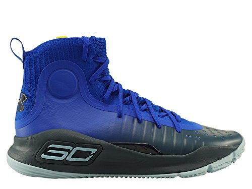 Under Armour Herren Basketballschuhe UA Curry 4-Try Royalblau (294) 45EU