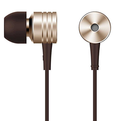 1MORE Piston Classic In-Ear Headphones with Apple iOS and Android Compatible Microphone, Gold