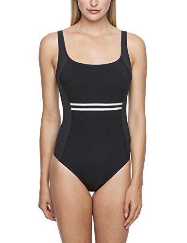 Rosa Faia Damen Einteiler Badeanzug Finja, (schwarz 001), 85E (Herstellergröße: 38) Preisvergleich