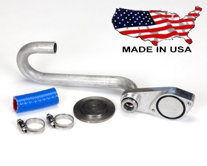 Ford 6.0L Basic EGR Delete Kit Custom Diesel FDD2. Fits Ford 2003, 2004, 2005, 2006, 2007 Fords, including F-250, F-350, F-450, Econoline, and Excusion Trucks with Powerstroke Diesel Engines. by Custom Diesel Inc.