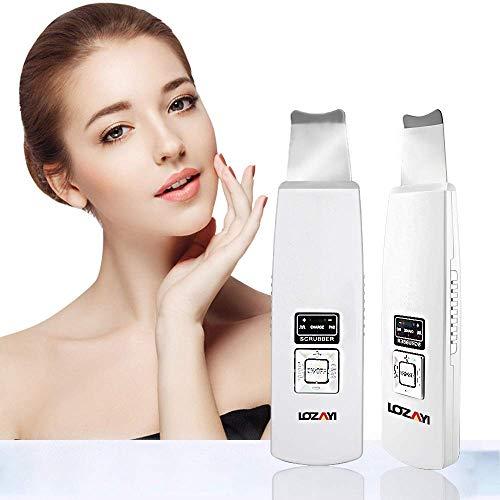 Skin Scrubber Mitesserentferner Ultraschall Porenreiniger Peeling Gesicht Ultraschallpeelinggerät Haut Scrubber Akne Entferner Hautreiniger Mitesser Entferner Ionen