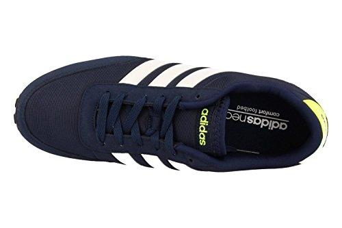 adidas Herren V Racer Turnschuhe Blau (Maruni/ftwbla/amasol)