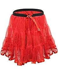 Islander Fashions Nias 2 capas de enagua Falda de tutFiesta de nios Ropa de baile Fancy