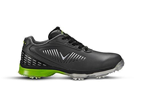 Callaway xFER Nitro Chaussures de golf, homme, gris (Grey/Black/Green), 41EU