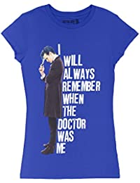 I Will Always Remember When The Doctor Was Me Juniors Shirt S