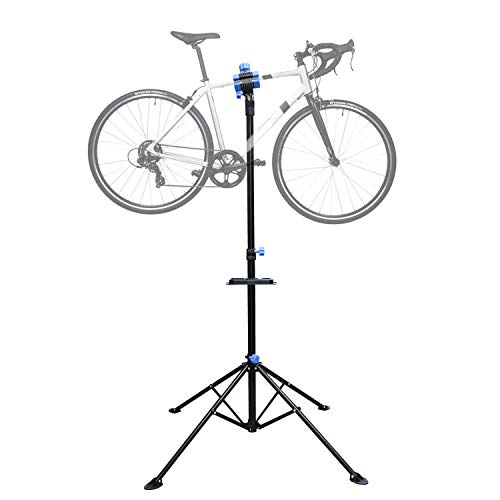 Hengda Fahrradmontageständer Klappbar Montageständer Höhenverstellbar Reparaturständer 360° Rotierbar für die Fahrradreparatur für Fahrräder aller Art bis 30 kg