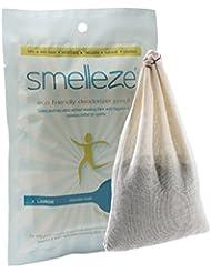 SMELLEZE reutilizable humano olor del desodorante del removedor : 2 bolsas para cazar libre de fragancias