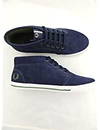 FRED-PERRY-B3174-266-CARBON-BlauE-FLETCHER-SUEDE