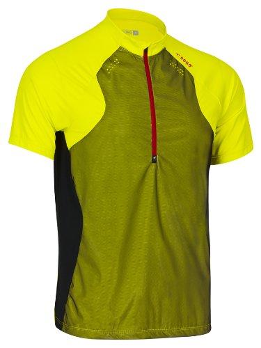 Rono t-Shirt pour Homme Polo pour Homme à col Montant zippé x